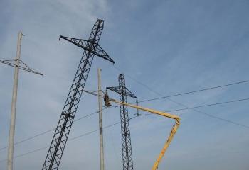 Монтаж ліній електропередач